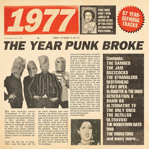 Cover von 1977: The Year Punk Broke
