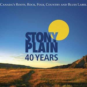 Cover von 40 Years Stony Plain