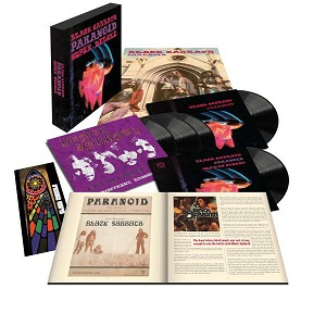 Foto von Paranoid ( 50th Anniversary Edition) (Super Deluxe 5LP Box)
