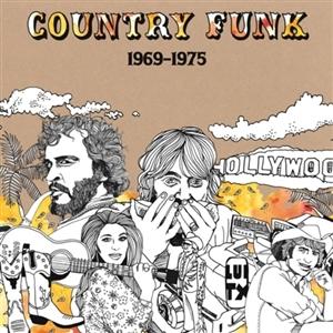 Foto von Country Funk (1969-75) lim.ed.Orange Swirl Vinyl