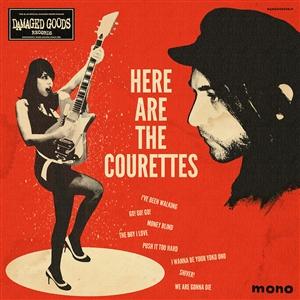Foto von Here Are The Courettes (lim ed. Cream Colored Vinyl)