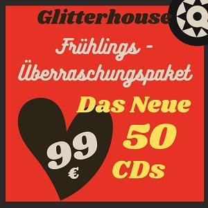 Foto von Glitterhouse Überraschungspaket: 50 CDs für 99,-€!
