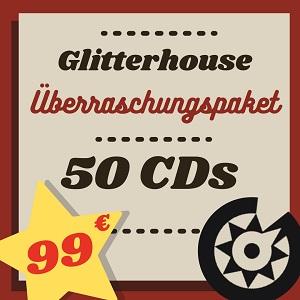 Foto von Glitterhouse Überraschungspaket: 50+2 CDs für 99,-€!