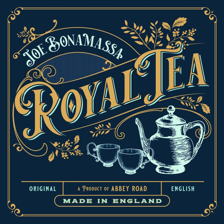 Foto von Royal Tea (CD Deluxe Limited Edition Tin Case)