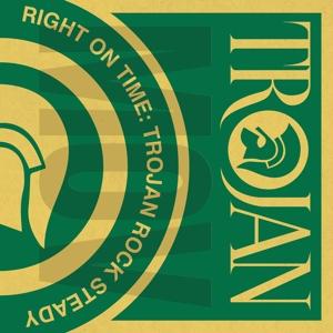 Foto von Right On Time : Trojan Rock Steady (lim.ed. Orange Vinyl, 180gr)