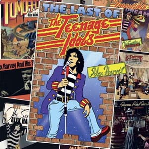 Cover von The Last Of The Teenage idols (ltd. Edition)