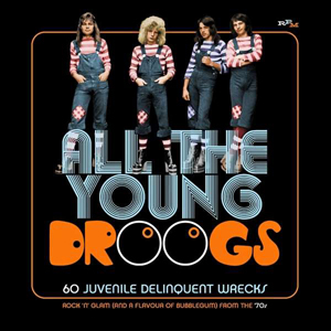 Cover von All The Young Droogs: 60 Juvenile Delinquent Wrecks