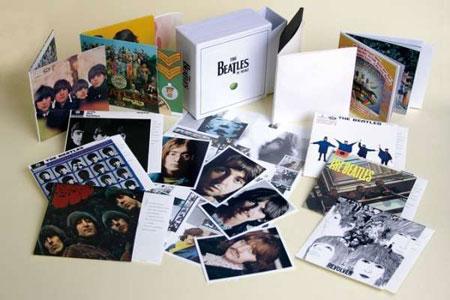 Foto von The Beatles Mono Box