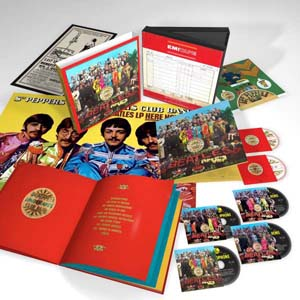 Cover von Sgt. Pepper's Lonely Hearts Club Band (50th Anniversary Super DeLuxe Edition)