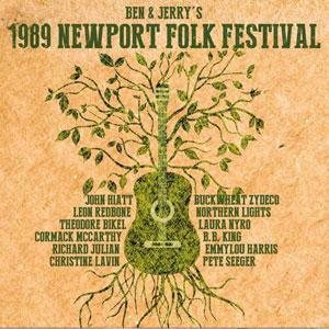 Foto von Ben & Jerry's 1989 Newport Folk Festival