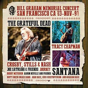 Cover von Bill Graham Memorial Concert San Francisco CA 03-Nov-91