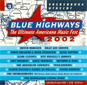 Foto von Blue Highways 2002