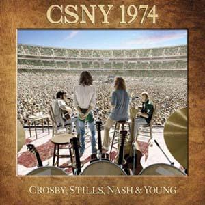 Foto von CSNY 1974