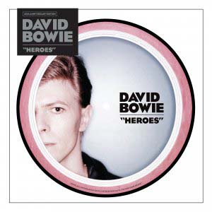 Foto von Heroes (ltd. 40th Anniversary Pic Disc- Edition)