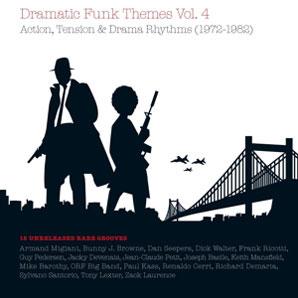 Cover von Dramatic Funk Themes Vol. 4