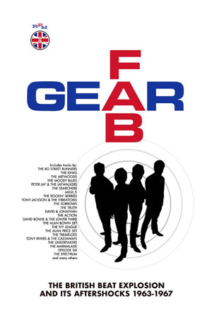 Cover von Fab Gear: The British Beat Explosion