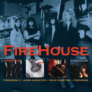 Foto von 3/Good Acoustics/Hold Your Fire/Firehouse