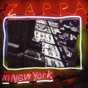 Cover von Zappa In New York