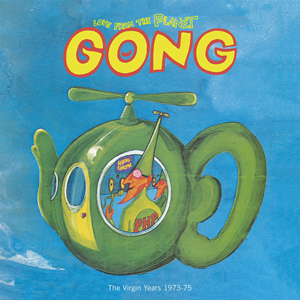 Cover von Love From The Planet Gong: The Virgin Years 1973-75