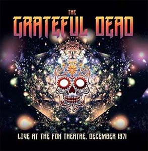 Cover von Live At The Fox Theatre, December 1971