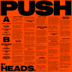 Foto von Push (ltd. blue vinyl)