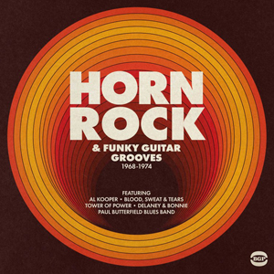 Cover von Horn Rock & Funky Guitar Grooves 1968-1974