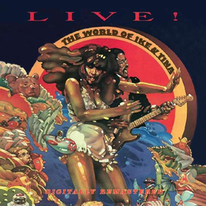 Cover von The World Of Ike & Tina: Live! (rem.)