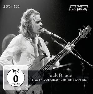 Cover von Live At Rockpalast 1980, 1983 & 1990