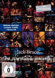 Cover von Rockpalast: The 50th Birthday Concerts (+CD)