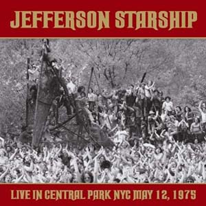Foto von Live At Central Park, NYC, May 12, 1975