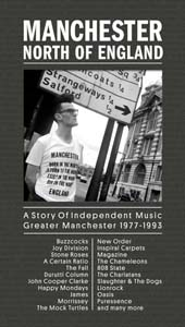 Cover von Manchester North Of England: A Story Of ... 1977-1993