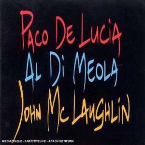 Foto von Paco De Lucia/Al Di Meola/John McLaughlin