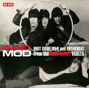 Cover von Planet Mod: Brit Soul, R&B And Freakbeat From The Shel Talmy Vaults