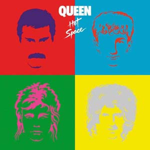 Cover von Hot Space (rem.)