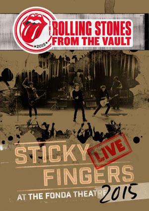Cover von From The Vault: Sticky Fingers Live 2015