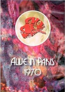 Cover von Alive In Paris 1970