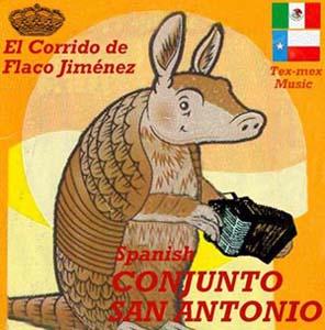 Foto von Spanish Conjunto San Antonio: El Corrido De Flaco Jimenez