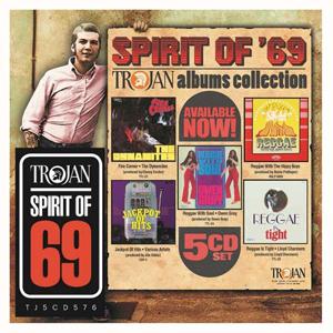 Cover von Spirit Of 69: Trojan Albums Collection