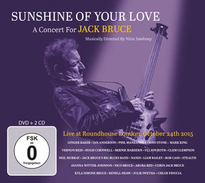 Cover von Sunshine Of Your Love: A Concert For Jack Bruce
