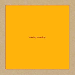 Cover von Leaving Meaning