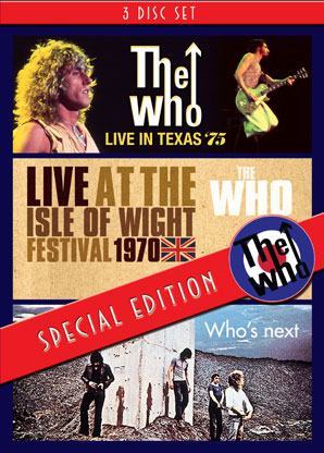 Foto von Live In Texas/Live At The Isle Of Wight/Classic Albums: Who's Next