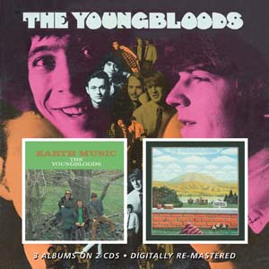 Cover von Youngbloods/Earth Music/Elephant Mountai
